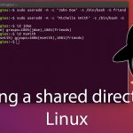 Creating a shared directory in GNU/Linux