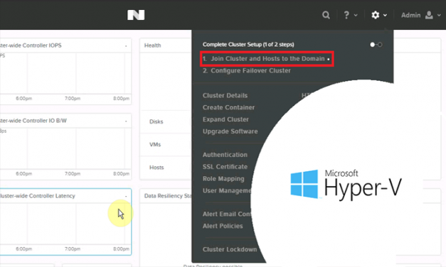 Unable to join Hyper-V cluster into AD Domain  – Nutanix