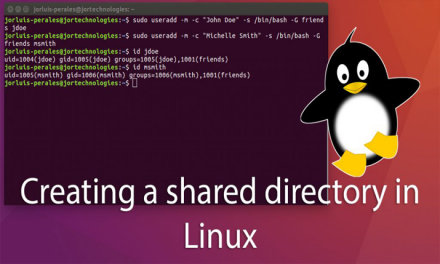 Creating a shared directory in Linux