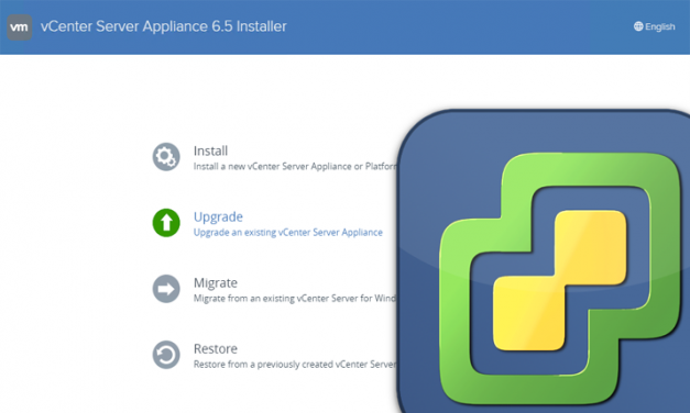 Upgrading vCenter Server Appliance (VCSA) from 6.0 to 6.5