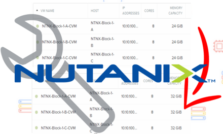 How to Change an AHV Based Nutanix Controller Virtual Machine (CVM) RAM