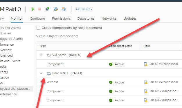 Content Library template VM not getting the proper vSAN storage policy (default or assigned) fully applied